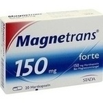 Verpackungsbild(Packshot) von MAGNETRANS forte 150 mg Hartkapseln