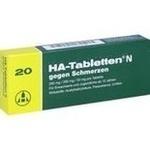 Verpackungsbild(Packshot) von HA Tabletten N