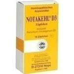 Verpackungsbild(Packshot) von NOTAKEHL D 3 Suppositorien