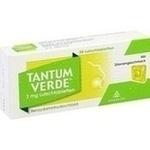 Verpackungsbild(Packshot) von TANTUM VERDE 3 mg Lutschtabl.m.Zitronengeschmack