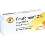 Verpackungsbild(Packshot) von POSIFORMIN 2% Augensalbe