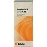 Verpackungsbild(Packshot) von SYNERGON KOMPLEX 85 Sanguinaria N Tropfen