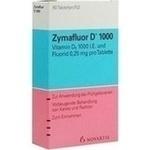 Verpackungsbild(Packshot) von ZYMAFLUOR D 1.000 Tabletten