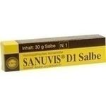 Verpackungsbild(Packshot) von SANUVIS D 1 Salbe