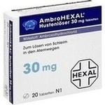 Verpackungsbild(Packshot) von AMBROHEXAL Hustenlöser 30 mg Tabletten