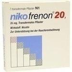 Verpackungsbild(Packshot) von NIKOFRENON 20 transdermale Pflaster