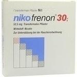 Verpackungsbild(Packshot) von NIKOFRENON 30 transdermale Pflaster