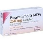 Verpackungsbild(Packshot) von PARACETAMOL STADA 250 mg Zäpfchen
