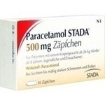 Verpackungsbild(Packshot) von PARACETAMOL STADA 500 mg Zäpfchen