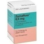 Verpackungsbild(Packshot) von ZYMAFLUOR 0,5 mg Lutschtabletten