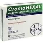 Verpackungsbild(Packshot) von CROMOHEXAL UD EDP 0,5 ml Augentropfen