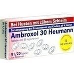 Verpackungsbild(Packshot) von AMBROXOL 30 Heumann Tabletten