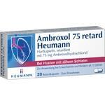 Verpackungsbild(Packshot) von AMBROXOL 75 retard Heumann Kapseln