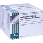 Verpackungsbild(Packshot) von NEPHROTRANS 840 mg magensaftresistente Kapseln
