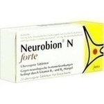 Verpackungsbild(Packshot) von NEUROBION N forte überzogene Tabletten