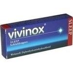 Verpackungsbild(Packshot) von VIVINOX Sleep Schlafdragees überzogene Tab.