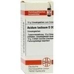 ACIDUM LACTICUM D 30 Globuli