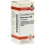 Verpackungsbild(Packshot) von ALLIUM CEPA C 200 Globuli