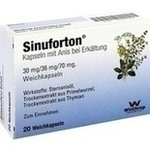 Verpackungsbild(Packshot) von SINUFORTON Kapseln m.Anis b.Erkältung