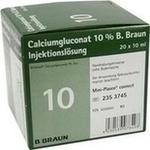 Verpackungsbild(Packshot) von CALCIUMGLUCONAT 10% MPC Injektionslösung