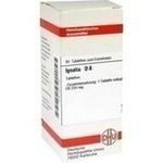 Verpackungsbild(Packshot) von IGNATIA D 8 Tabletten