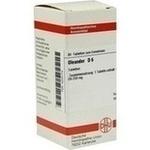 Verpackungsbild(Packshot) von OLEANDER D 6 Tabletten