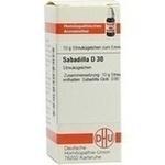 Verpackungsbild(Packshot) von SABADILLA D 30 Globuli
