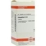 SABADILLA D 12 Tabletten