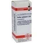 Verpackungsbild(Packshot) von SULFUR JODATUM C 30 Globuli