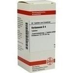 Verpackungsbild(Packshot) von VERBASCUM D 4 Tabletten