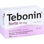 Verpackungsbild(Packshot) von TEBONIN forte 40 mg Filmtabletten