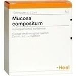 Verpackungsbild(Packshot) von MUCOSA compositum Ampullen