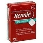 Verpackungsbild(Packshot) von RENNIE Spearmint Kautabletten