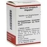 Verpackungsbild(Packshot) von MERCURIUS SOLUBILIS N Oligoplex Tabletten