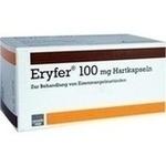 Verpackungsbild(Packshot) von ERYFER 100 Hartkapseln