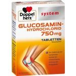 Verpackungsbild(Packshot) von DOPPELHERZ Glucosamin-Hydrochlorid 750mg syst.Tab.