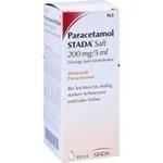 Verpackungsbild(Packshot) von PARACETAMOL STADA Saft 200 mg/5 ml Lsg.z.Einnehmen