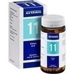Verpackungsbild(Packshot) von BIOCHEMIE Orthim 11 Silicea D 12 Tabletten