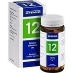 Verpackungsbild(Packshot) von BIOCHEMIE Orthim 12 Calcium sulfuricum D 6 Tabl.