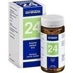 Verpackungsbild(Packshot) von BIOCHEMIE Orthim 24 Arsenum jodatum D 12 Tabletten