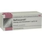 Verpackungsbild(Packshot) von NEFROCARNIT Lösung zum Einnehmen