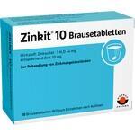 Verpackungsbild(Packshot) von ZINKIT 10 Brausetabletten