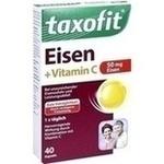 Verpackungsbild(Packshot) von TAXOFIT Eisen+Vitamin C Weichkapseln