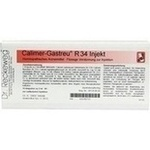 Verpackungsbild(Packshot) von CALIMER-Gastreu R34 Injekt Ampullen