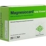 Verpackungsbild(Packshot) von MAGNESIOCARD forte 10 mmol Plv.z.Her.e.Lsg.z.Einn.