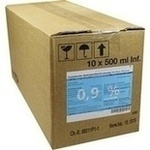 Verpackungsbild(Packshot) von ISOTONISCHE NaCl 0,9% DELTAMEDICA Inf.-Lsg.Glasfl.