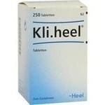 Verpackungsbild(Packshot) von KLI.HEEL Tabletten