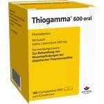 Verpackungsbild(Packshot) von THIOGAMMA 600 oral Filmtabletten