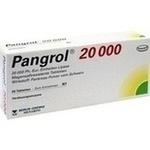 Verpackungsbild(Packshot) von PANGROL 20.000 magensaftresistente Tabletten