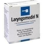 Verpackungsbild(Packshot) von LARYNGOMEDIN N Spray